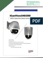 camara icantek iCanView240-36S