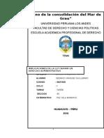 Monografia de La Ley Servir en Derecho Administrativo