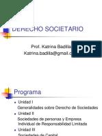 Derecho Societario Ubo