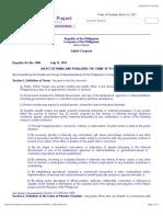 R.a. 7080 Plunder Law