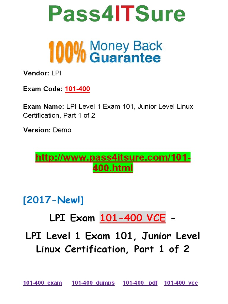 New pass4itsure lpi 101 400 vce pdf lpi level 1 exam 101 junior new pass4itsure lpi 101 400 vce pdf lpi level 1 exam 101 junior level linux certification part 1 of 2 advanced packaging tool booting 1betcityfo Choice Image