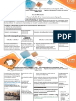 Guía Actividades y Rúbrica de Evaluación Unidad III Paso 3 Proponer El Plan de Gestión de Las Comunicaciones