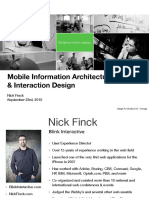 mobile information architecture