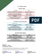 2017 Calendar of DHRM Courses