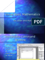 Visual Basic Mathematics