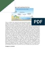 Sea level changes and sedimentation.docx
