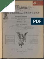 Albúm de la Guerra del Paraguay, propiedad de la Asociación de Guerreros del Paraguay N° 1 año 1893.