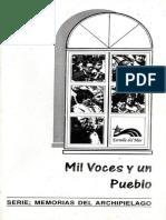 ROSAS, Angélica (1996) Mil Voces y Un Pueblo
