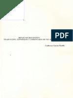 Hipaso de Metaponto Traducción. Exposición y Análisis de Sus Ideas.