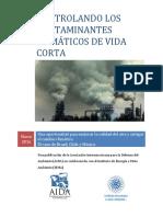 AIDA Controlando Los Contaminantes Climáticos de Vida Corta