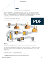 Beer Production Process