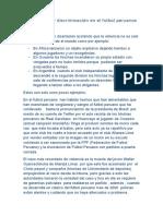 Violencia y Discriminación en El Futbol Peruanos