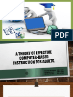 a theory of effective computer-based instruction for adults   group 5 ppsx