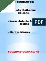 SOCIEDA COMANDITA