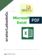 Guía de Excel 2013