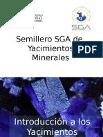 01 Introducción a Los Yacimientos Minerales
