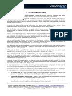 Artigo - CLIMA ORGANIZACIONAL - Washington Sorio