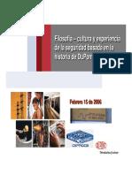 Filosofia_-_Cultura_y_experiencia_de_la seguridad basada en la historia DUPONT.pdf