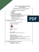 Bor, Frases, De - Unknown - Hoja de Datos de Seguridad Acido Borico 1