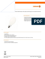 POWERSTAR HQI-E coated Metal halide lamps with quartz technology for enclosed luminaires