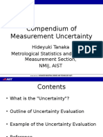 Compendium of Measurement Uncertainty(English)