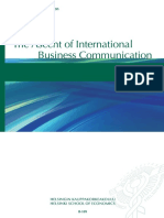 The Ascent of International Business Communication