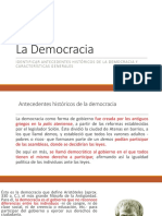 Antecedentes Democracia