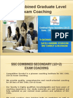 SSC Combined Higher Secondary (10+2) Exam Coaching