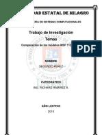 Comparacion Metodo Msf y Metodologia Cascada