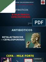 BETALACTAMICOS cefalosporina