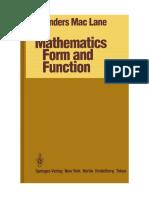 Mathematics, Form and Function - PDF