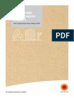 Corporate Governance Report 2016