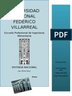 Defensa Final- Terrorismo