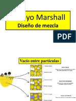 Diseño de Mezcla c. Marshall