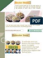 Molecular Sieves | Molecular Sieve | Desiccant Manufacturer