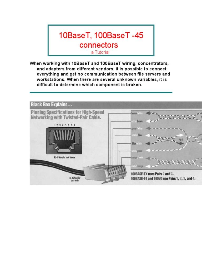 Awesome 10baset Wire Ideas - Wiring Diagram Ideas - blogitia.com