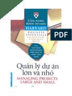 Cẩm nang kinh doanh harvard- Quản lý các dự án lớn và nhỏ.pdf