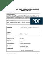 TDS Nippon Thermoplastic Roadline Paint(1)