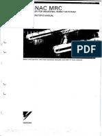 Mrc Operating Manual