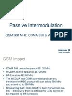 Passive Intermodulation - Converted