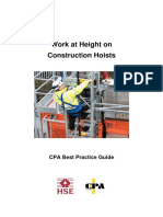 Work at Heights on Construction