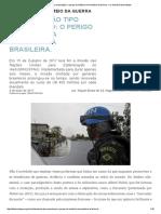 Militarização Tipo Exportação_ o Perigo Da Indústria Humanitária Brasileira
