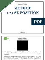 METODO FALSA POSICION_