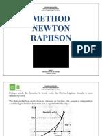 Metodo Newton Raphson