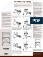 How to Erect Access Frame Scaffolding. Scaffolding_poster_erect