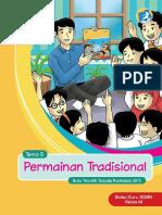 Kelas 03 SD Tematik 5 Permainan Tradisional Guru
