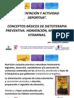 Alimentacion y Actividad Deportiva - Guadalupe Garrido