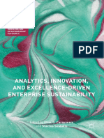 Analytics, Innovation, And Excellence-driven Enterprise Sustainability (2017)