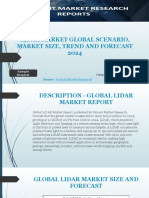 Lidar Market Global Scenario