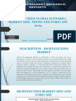 Bio-pesticides Global Scenario Market